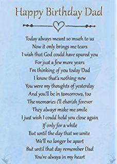 Happy Birthday Dad In Heaven Poems 7