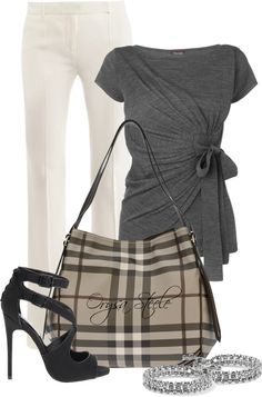 """Smoked Check"" by orysa on Polyvore"