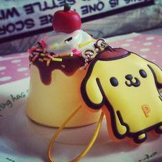 purin | RARE Pom Pom Purin Pudding Squishy