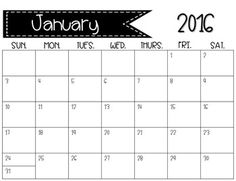 Handprint Calendars with Poems - Editable!