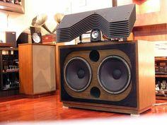 JBL 2395 slant plate over JBL #speaker