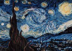 A Starry Night - Vincent van Gogh