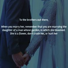 Advice for the husbands in Islam: Be kind to her, don't cheat on her, do provide for her & fulfill her rights Islamic Quotes On Marriage, Islam Marriage, Islamic Love Quotes, Islamic Inspirational Quotes, Muslim Quotes, Love Husband Quotes, Brother Quotes, Wife Quotes, Woman Quotes