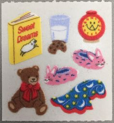 Sandylion stickers are in high demand by collectors. They are also perfect for embellishing greeting cards, scrapbook pages, gift bags, crafts and mo Bear Blanket, Into The Fire, Cute Stickers, Textiles, Art Inspo, Soft Sculpture, Art Reference, Journaling, Stationery