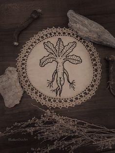 The Witches Root by TheWitchandtheNeedle on Etsy