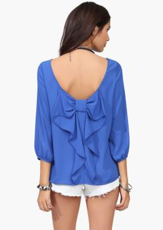 Waldorf Bow Blouse   Shop for Waldorf Bow Blouse Online