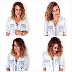 @glendamacinnis! #hairtalk #sombre #ombre #rootyblonde #sunkissed #balayage #foils #lob #longbob #undonetexture #blonde #blondebabe #sexyhair #chrisgreenehair