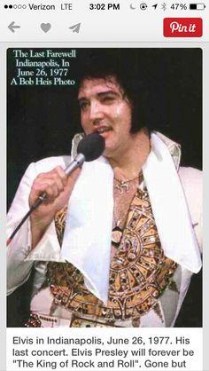 Elvis June 26, 1977