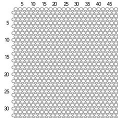 Brick Stitch Graph Paper - Size 11 Seed Beads turn sideways and it becomes peyote Seed Bead Patterns, Beaded Jewelry Patterns, Weaving Patterns, Beading Techniques, Beading Tutorials, Beaded Beads, Seed Bead Crafts, Fusion Beads, Beaded Cross Stitch