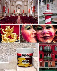 San Marco incontra i colori di #Venezia Prodotto: Serenissima http://www.san-marco.com/ita/prodotti/serenissima.php