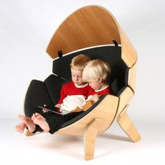 muebles de diseño Hideaway Chair Children's Chair by Think & Shift A awards muebles platino