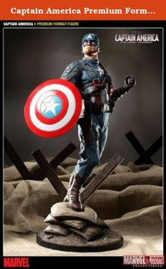Captain America Premium Format Figure From Sideshow. Celebrating the much-anticipated Independence Day release of the Captain America: The First Avenger film comes the Captain America Premium Format figure captures every aspect of the MARVEL patriot with stunning realism. Each piece is individually painted and finished, each with its own unique quality and detail that is the trademark of a handcrafted Sideshow Collectibles product. Featuring real fabric costume detail and switch-out…