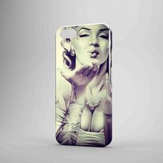 Marilyn Hot iPhone Case Samsung Galaxy Case TM00 3D