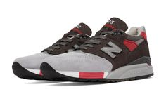 998 Age of Exploration, Grey with Red Size 11