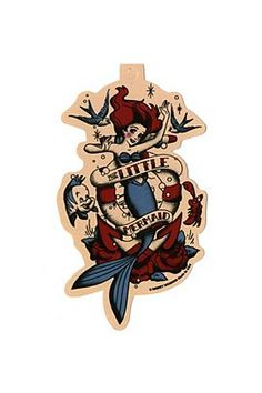 Disney The Little Mermaid Pin-Up Sticker - 10004413