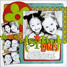 *Silly Girls* BasicGrey Color Me Silly - Scrapbook.com