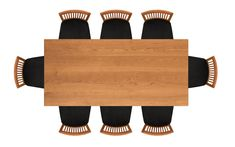 Copeland Furniture 36in x 78in Four Leg Fixed Top Table 6-SAR-04-03