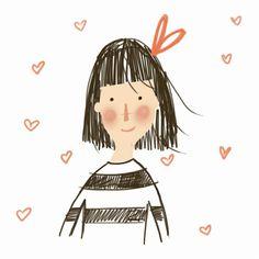 A Marta le encanta dibujar…