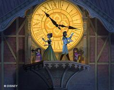 true Disney fun- lots of clocks in Disney's movies- Pinochio, Cinderella, Alice, Peter Pan, Beauty.......