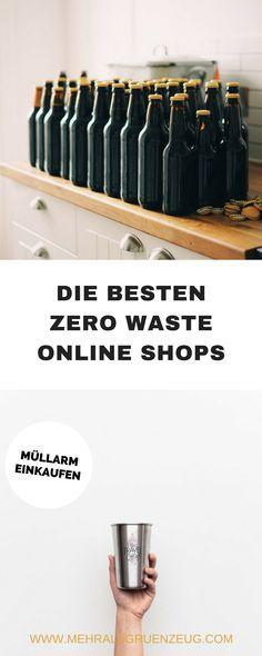 Müllarm einkaufen, auch ohne Unverpacktladen in der Nähe: In entsprechenden Zero Waste Online Shops ist das möglich. Eine Auswahl an guten Shops für vor allem plastikfreieres Leben.