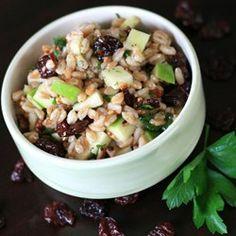 Farro salad, Kale and Salads on Pinterest
