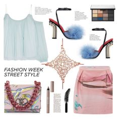 """""""NYFW Street Style: Day One"""" by dorinela-hamamci ❤ liked on Polyvore featuring Elizabeth and James, Gyunel, TJ Volonis, Emilio Pucci, BeYu, NARS Cosmetics, LORAC, NYFW, polyvorecontest and polyvoreditorial"""