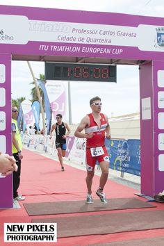 Shortly followed by Tim Butt in the Quateira Triathlon ETU