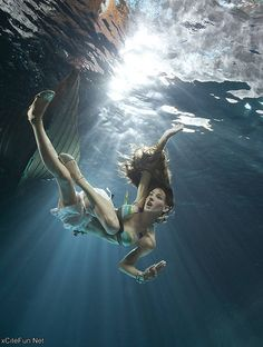 underwater photography pinned with Bazaart