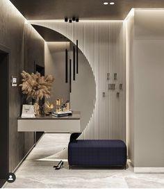 Modern Luxury Bedroom, Luxury Bedroom Design, Home Room Design, Luxurious Bedrooms, Luxury Interior, Home Interior Design, Living Room Designs, Foyer Design, Hallway Designs
