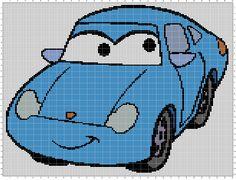 Disney Cars Sally x-stitch (150x150)