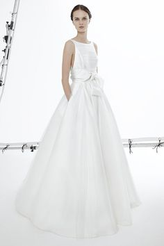 Faith wedding dress from Peter Langner Bridal Collection 2017 - Classic wedding dress with pocket detail - see the rest of the collection on www.onefabday.com
