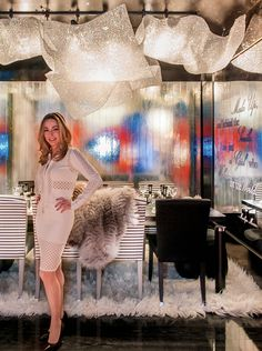 #LuxuryLiving partners with MANHATTAN Magazine for #DIFFADining by Design. Designer: Noelia Ibáñez