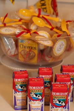 This Cheerios 1st Birthday Party is ADORABLE! I want to plan one of these, ha!