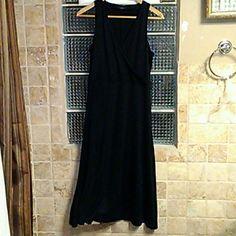 Ralph Lauren dress size Large Black elegant dress great condition 100% silk, 45 inches long Ralph Lauren Dresses Maxi