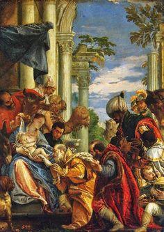 Paolo Veronese (1528-1588): Adoración Magos.