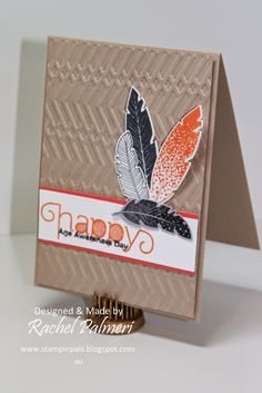 #Rachel @ Stampin' Pals, Color Throwdown,#Four Feathers, #Age Awareness