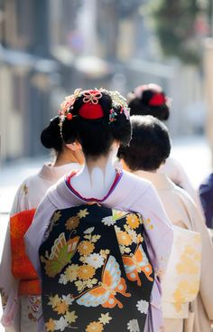 舞妓 maiko 芸妓 geiko 宮川町 miyagawacho KYOTO JAPAN