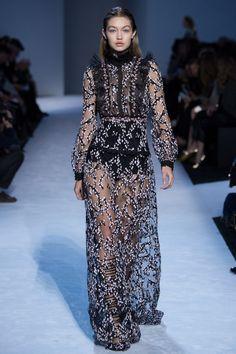 #GigiHadid at Giambattista Valli   Paris Fashion Week   Fall 2016