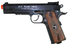 TSD CO2 Blowback M1911 Airsoft Pistol - TSD CO2 Blowback M1911 Airsoft Pistol, Black Metal Slide, Black Nylon Frame, & Wood Grips. Adjustable Hop Up,475+ FPS with .20g BBs, Packaged in Pistol Case. Legal Disclaimer Restrictions: You must be 18 or older to order this product. In some areas, state and local laws further restrict or prohibit the sale and possession of this product. In ordering this product, you certify that you are at least 18 years old and satisfy your jurisdiction's legal…
