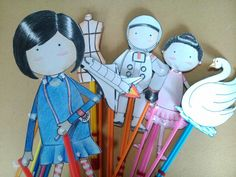 Handmade Paper puppet
