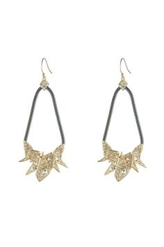 80c94cb60 Crystal Encrusted Origami Tear Drop Earring - orchard mile - $155 Origami  Jewelry, Teardrop Earrings