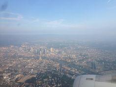 #Frankfurt from above #mainhatten #inflight