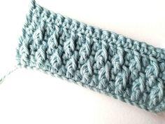 Alpine stitch - Nordic Hook Crochet Cowl Free Pattern, Crochet Gratis, Crochet Blanket Patterns, Crochet Yarn, Free Crochet, Crochet Dolls, Crochet Block Stitch, Triple Crochet Stitch, Front Post Double Crochet