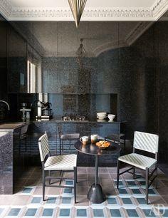 Квартира по дизайну Жана-Луи Денио в Х округе Парижа: фото оригинальных интерьеров | AD Magazine
