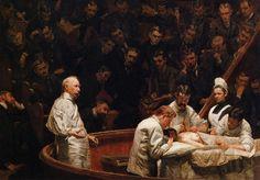 Thomas Eakins (American, 1844-1916)  The Agnew Clinic  1889  University of Philadelphia