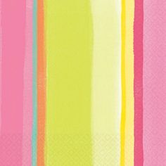 Amscam 16 Count Sunny Stripe Pink Luncheon Napkins Multicolor >>> Read more reviews of the product by visiting the link on the image.