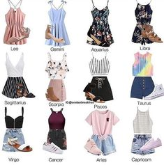 Horoscope outfits