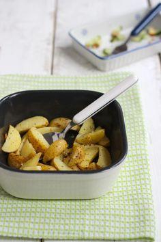 Knoflookaardappeltjes uit de oven - Lekker en Simpel