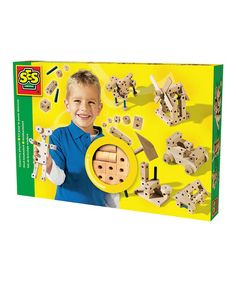 Take a look at this Carpentry Wood Building Play Set by SES Creative on #zulily today! $20 !!
