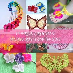 86 Beste Afbeeldingen Van Vlinders Crochet Butterfly Yarns En
